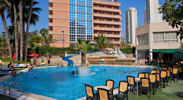 Holidays at Alone Hotel in Cala Finestrat, Benidorm