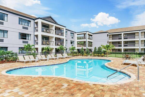 Holidays at Courtyard by Marriott LBV at Vista Centre in Lake Buena Vista, Florida
