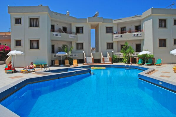 Holidays at John Mary Apartments in Gouves, Crete