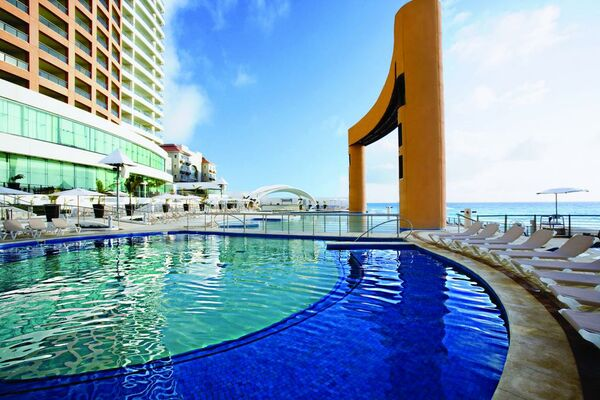 Holidays at Beach Palace in Cancun, Mexico