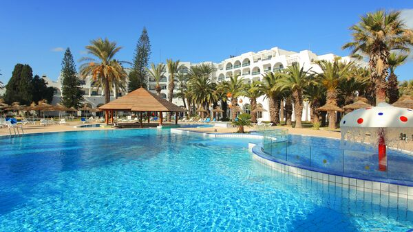 Holidays at Marhaba Beach Hotel in Sousse, Tunisia