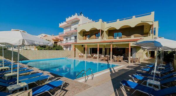 Holidays at Esmeralda Aprthotel in Kremasti, Rhodes
