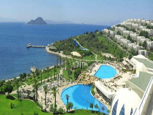Holidays at Yasmin Bodrum Resort in Kadikalesi, Turgutreis