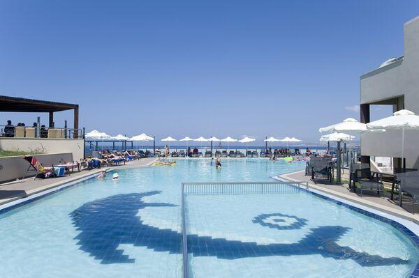 Holidays at CHC Galini Sea View in Agia Marina, Crete