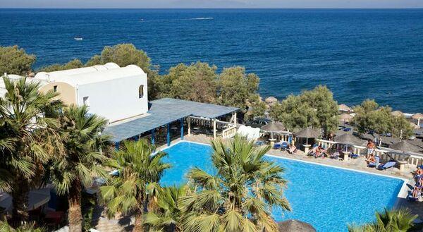 Holidays at Kamari Beach Hotel in Kamari, Santorini