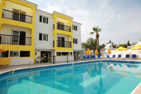 Holidays at Cleopatra and Annex Apartments in Ayia Napa, Cyprus