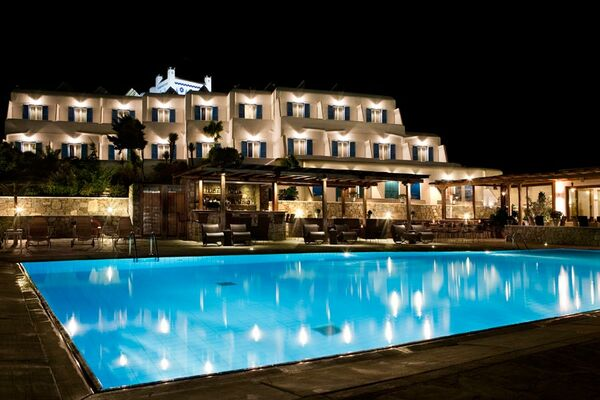 Holidays at Yiannaki Hotel in Ornos, Mykonos