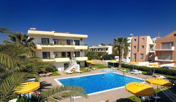 Holidays at Anita Aparthotel in Ixia, Rhodes