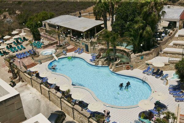 Holidays at Porto Azzurro Aparthotel in St Paul's Bay, Malta