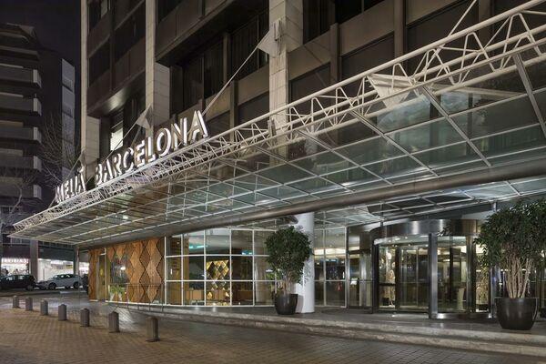 Holidays at Melia Barcelona Sarria Hotel in Eixample, Barcelona