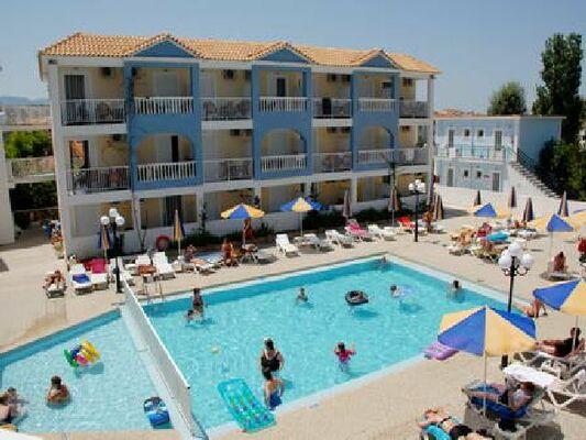 Holidays at Tsilivi Admiral Aparthotel in Tsilivi, Zante
