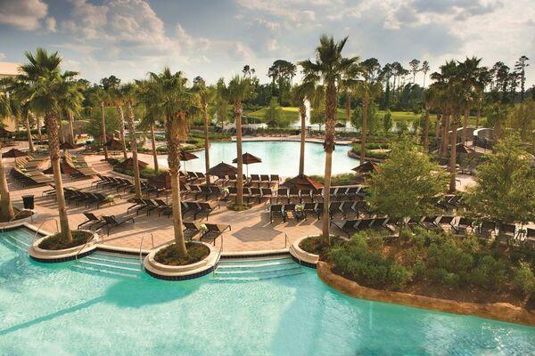 Holidays at Hilton Orlando Bonnet Creek Hotel in Lake Buena Vista, Florida
